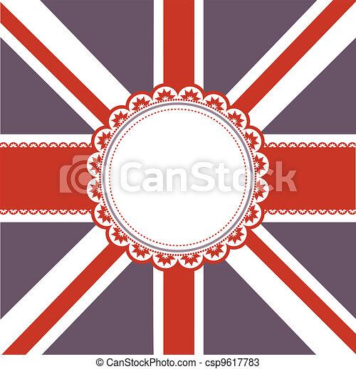 Union Jack background - csp9617783