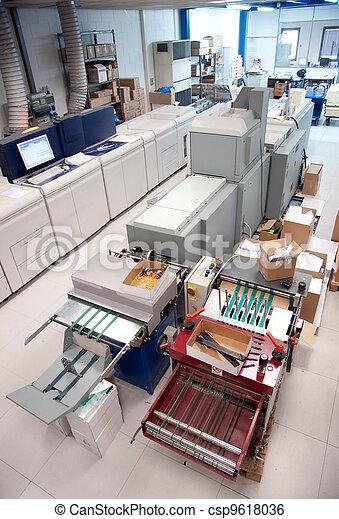 Digital press printing machine - csp9618036