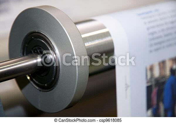Printing machine: digital web press - csp9618085