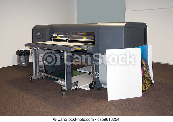 Digital printing - wide format printer - csp9618254