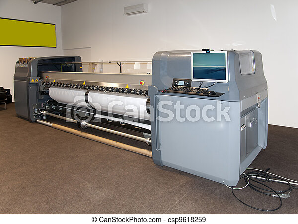 Digital printing - wide format printer - csp9618259
