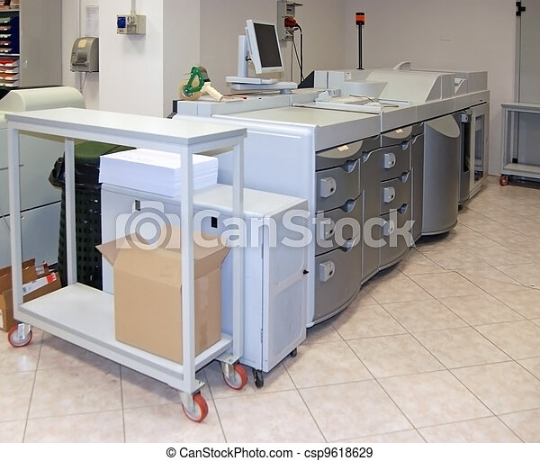 Digital press printing machine - csp9618629