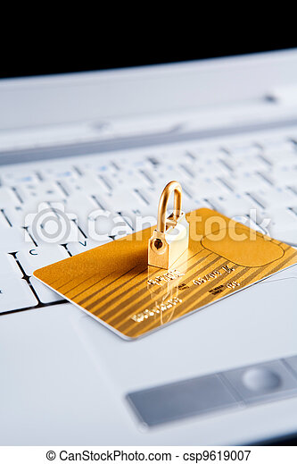 Security concept for online transaction - csp9619007