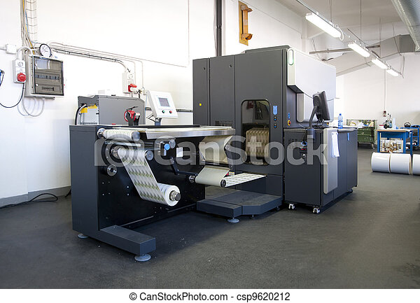 Digital printer for labels - csp9620212