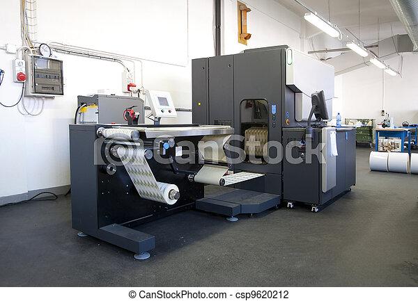 Digital printer for labels - csp9620212