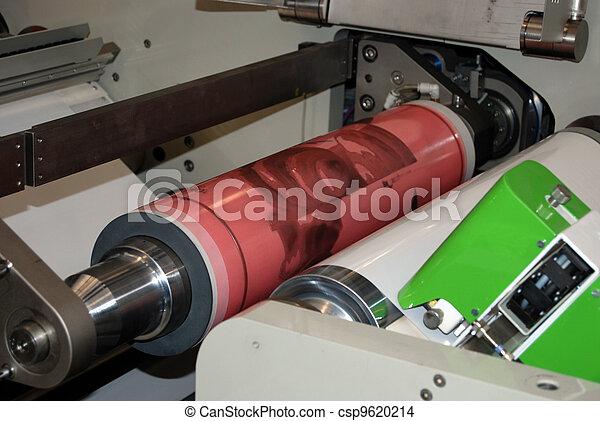 Flexo printing machine - csp9620214