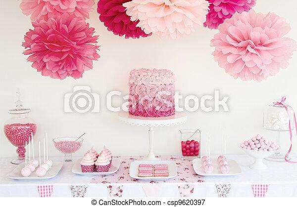 Dessert table - csp9620397