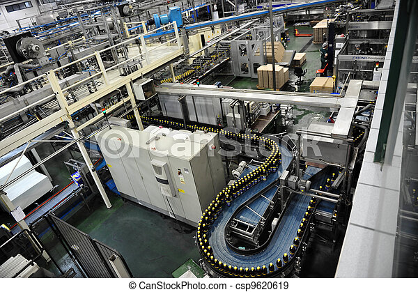 Beverages Factory - csp9620619