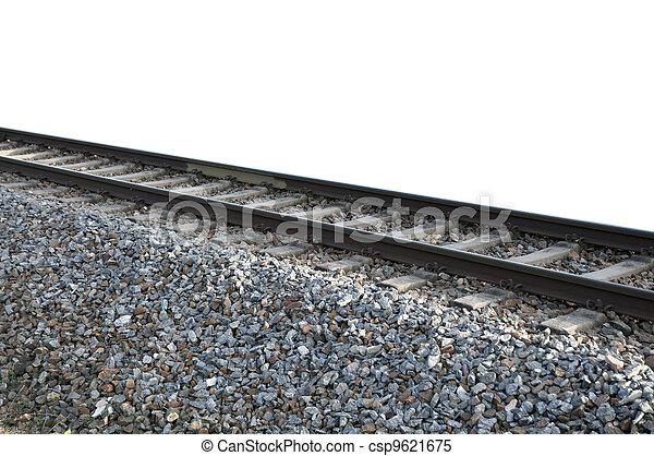 Train tracks - csp9621675