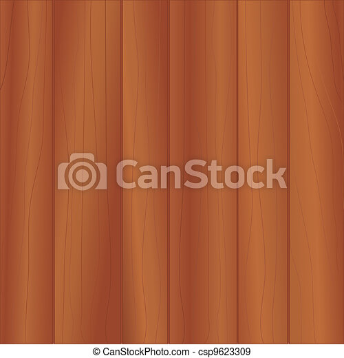 Cherry Wood Paneling - csp9623309