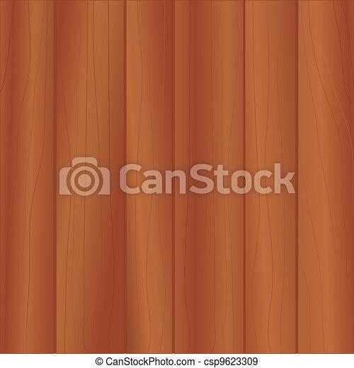 Cherry Wood Paneling  - csp9623309