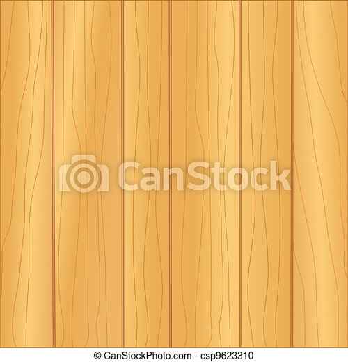 Vector Clipart of Oak Wood Panel Background pattern of light