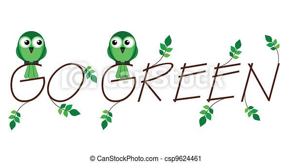 Environmental go green  - csp9624461