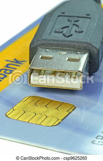 Online banking - csp9625260