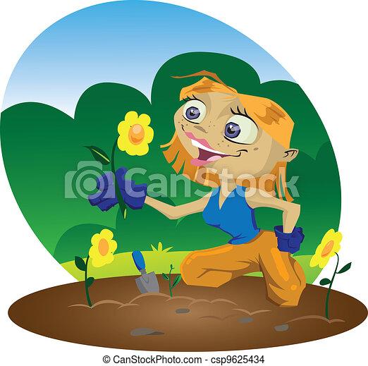 Gardener - csp9625434