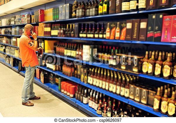 Liquor Store - csp9626097