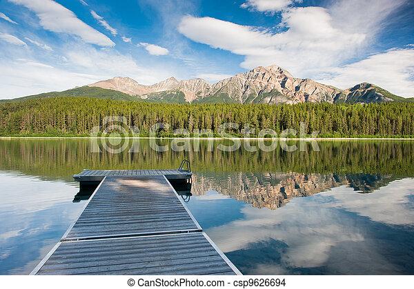 Patricia Lake, Canada - csp9626694
