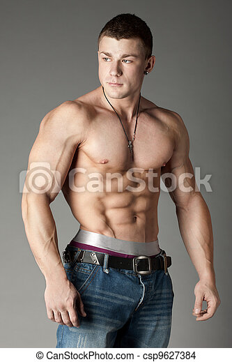 Bodybuilder - csp9627384