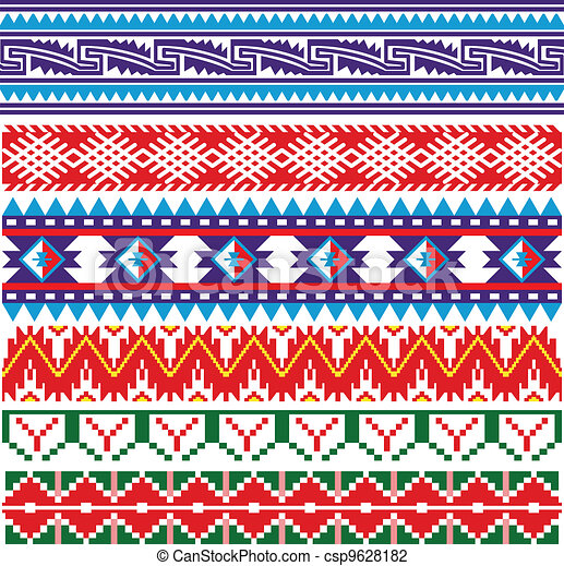 Some ancient american pattern - csp9628182