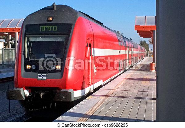 Modern Train Engine