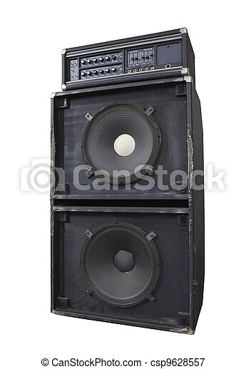 Grunge Bass Blaster - csp9628557