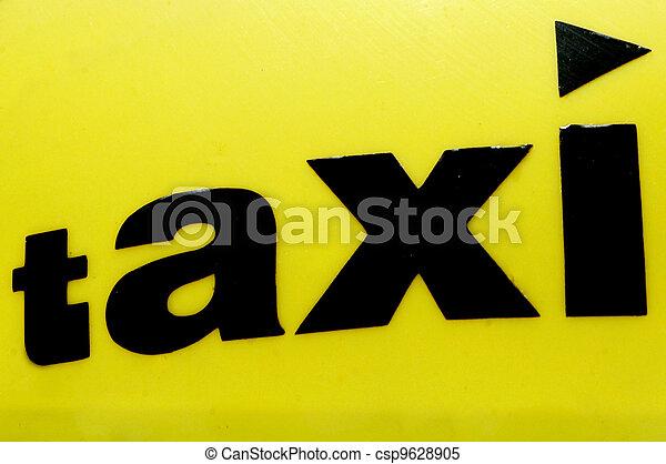 Taxi Cab - csp9628905