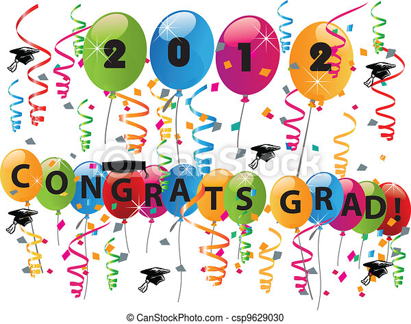 Celebrating graduation day - csp9629030