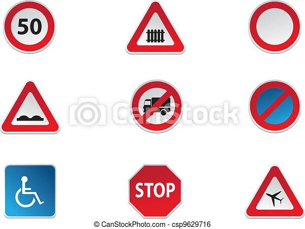 Road Signs - csp9629716