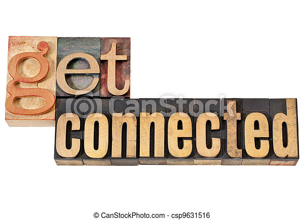 get connected in wood type - csp9631516