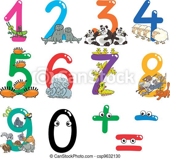 Vector antal cartoon dyr stock illustration royaltyfrie