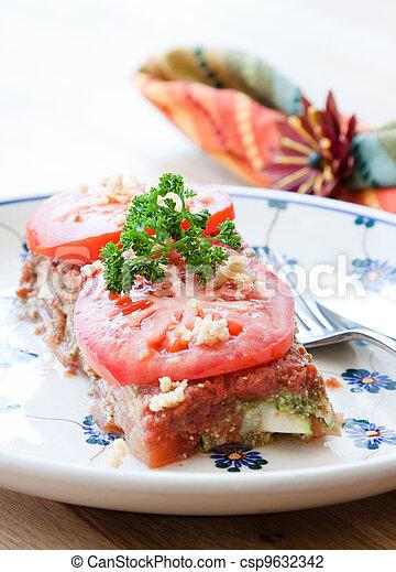 Vegan Lasagna - csp9632342