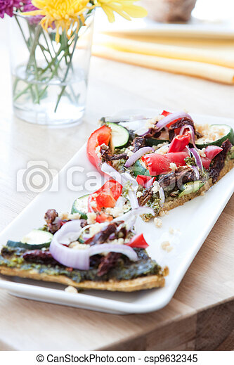 Vegan Pizza - csp9632345