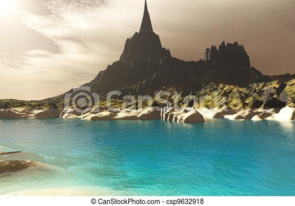 Mora Seascape - csp9632918