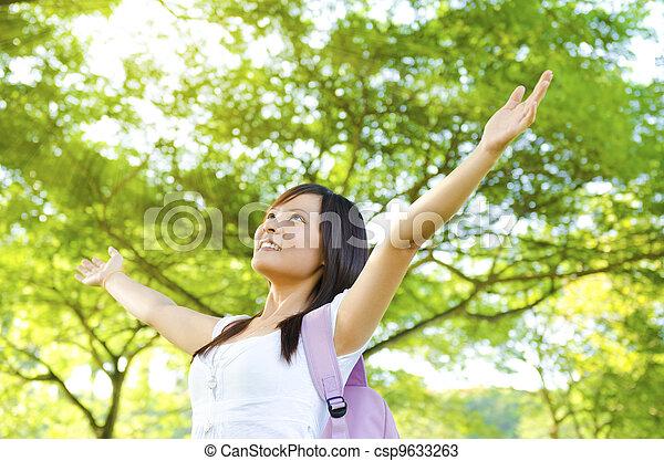 Enjoying the nature. - csp9633263