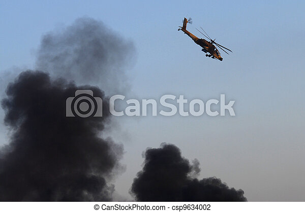 Israel Air Force - Air Show - csp9634002