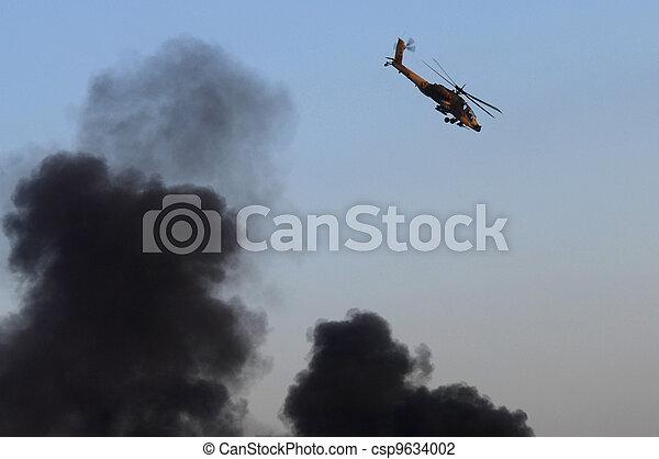 Israel Air Force - Air Show - csp9634002