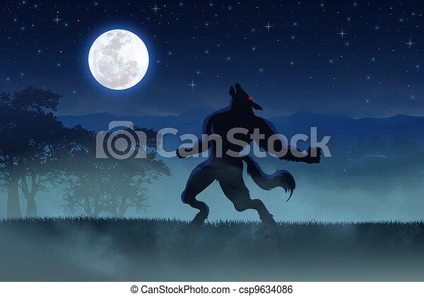 Werewolf - csp9634086