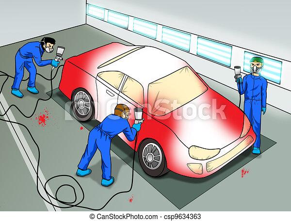 Auto Body Paint La Grande Or
