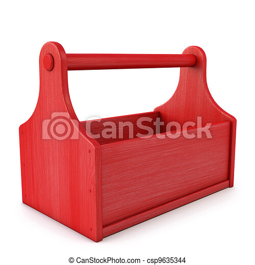 Empty Toolbox Clipart toolbox - empty wooden toolbox