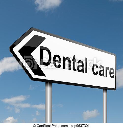 Dental treatment concept. - csp9637301