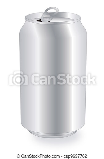 blank drink can - csp9637762