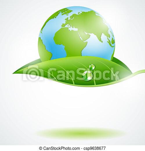 Eco concept - csp9638677