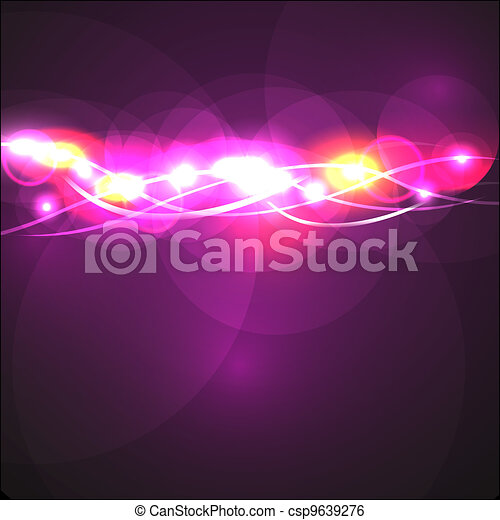 Dynamic Abstract Background - csp9639276