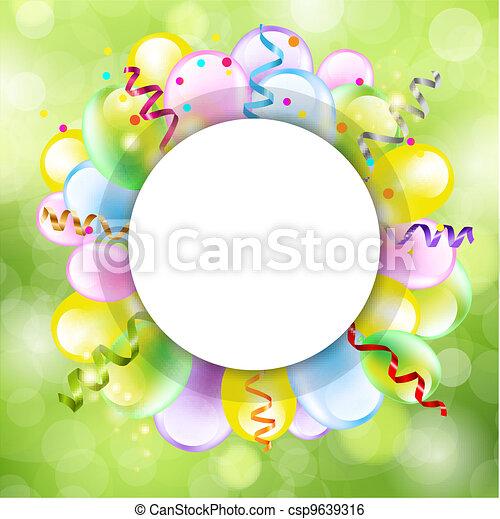 Happy Birthday Background - csp9639316