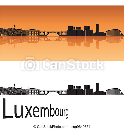 Luxembourg skyline - csp9640634
