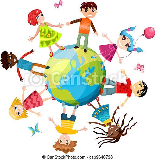 children ih the world - csp9640738