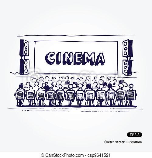 Cinema - csp9641521