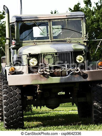 Military truck - csp9642336