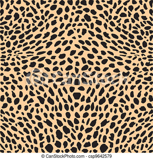 Skin cheetah decor - csp9642579