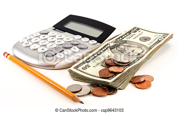 Personal finance and accounting - csp9643103